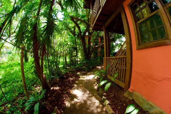 Apartamento de 1 habitación con vista al Jardín